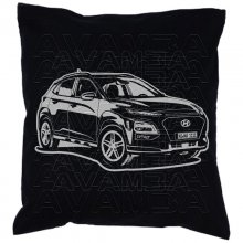 Hyundai Kona (ab 2017)  Car-Art-Kissen / Car-Art-Pillow