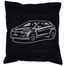 Hyundai i30 GD (2011 - 2017) Car-Art-Kissen / Car-Art-Pillow