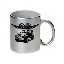 Jeep CJ7 Tasse / Keramikbecher m. Aufdruck