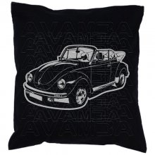 Käfer Cabrio Car-Art-Kissen / Car-Art-Pillow