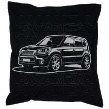 Kia Soul Car-Art-Kissen / Car-Art-Pillow