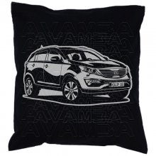 Kia Sportage  Car-Art-Kissen / Car-Art-Pillow