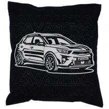 Kia Stonic V1 (2017 - ) Car-Art-Kissen / Car-Art-Pillow