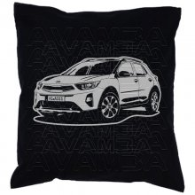 Kia Stonic V2 (2017 - ) Car-Art-Kissen / Car-Art-Pillow
