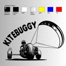 Kitebuggy (No.4)  Aufkleber / Sticker
