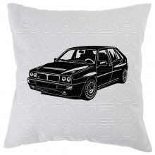 Lancia Delta Integrale (1979 - 1994)  Car-Art-Kissen /...