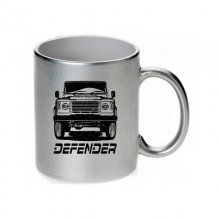 Land Rover Defender Frontview   Tasse / Keramikbecher m....
