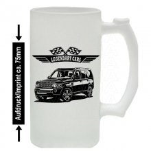 Land Rover Discovery 4 Station  - Bierkrug / Beermug m....