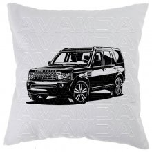 Land Rover Discovery Station  - Car-Art-Kissen /...