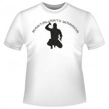 Martial Arts Warrior T-Shirt/Kapuzenpullover (Hoodie)