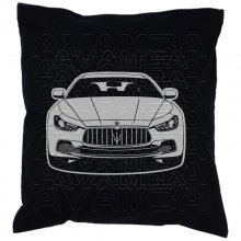 Maserati Quattroporte -Car-Art-Kissen / Car-Art-Pillow