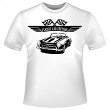 Mercedes Benz 190 SL W121 BII   (1955-1963)  T-Shirt /...
