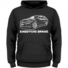 Mercedes CLA Shooting Break (C117) Version 2  T-Shirt /...