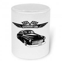 Mercury Coupe 1949 Moneybox / Spardose mit Aufdruck