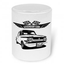 NSU Prinz TT Version 2  Moneybox / Spardose mit Aufdruck