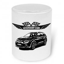 Nissan X-Trail T32 Version 2 (2014 -) Moneybox / Spardose...