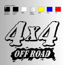 OFFROAD Sticker OFFROAD 4x4 V2