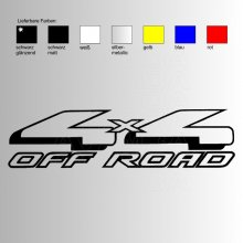 OFFROAD Sticker OFFROAD 4x4 V3