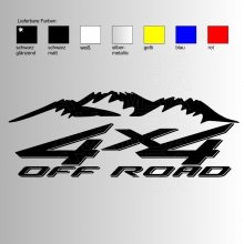 OFFROAD Sticker OFFROAD 4x4 V4