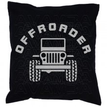 OFFROADER  Car-Art-Kissen / Car-Art-Pillow