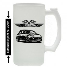 OPEL Adam  Version 2  Bierkrug / Beermug m. Aufdruck