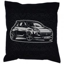 OPEL Adam Version 2  Car-Art-Kissen / Car-Art-Pillow