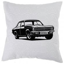 OPEL Ascona A  (1970-1975) Car-Art-Kissen / Car-Art-Pillow