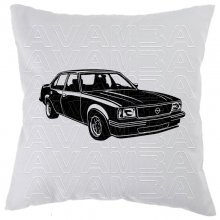 OPEL Ascona B Version2 (1975-1981) Car-Art-Kissen /...
