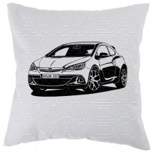 OPEL Astra J  (2009-2015)  - Car-Art-Kissen / Car-Art-Pillow