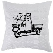 Piaggio Ape Pritsche  Car-Art-Kissen / Car-Art-Pillow