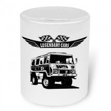 Pinzgauer Version 2 (ab 1971) Moneybox / Spardose mit...