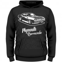 Plymouth Barracuda (Version2)  T-Shirt / Kapuzenpullover...