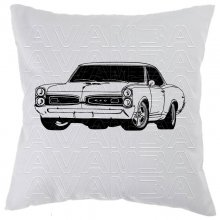 Pontiac GTO 1967 (V2) Car-Art-Kissen / Car-Art-Pillow