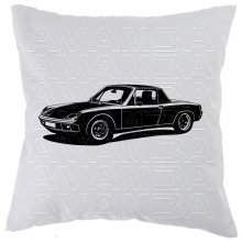 Porsche 914 Car-Art-Kissen / Car-Art-Pillow