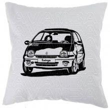 Renault Twingo Version 2 (1993 - 2007)  Car-Art-Kissen /...