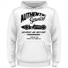 Authentic Retro Car Vintage T-Shirt/Kapuzenpullover (Hoodie)