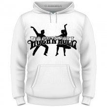 Rock n Roll Dancer T-Shirt/Kapuzenpullover (Hoodie)
