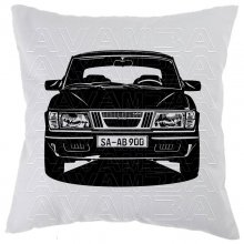 Saab 900 Turbo (1978-1998) - Car-Art-Kissen / Car-Art-Pillow