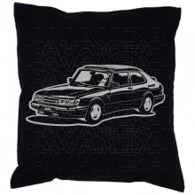 Saab 900 Turbo Version 2  - Car-Art-Kissen / Car-Art-Pillow