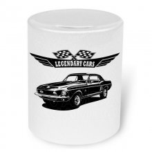 Shelby Ford Mustang EXP 500 1968  Moneybox / Spardose mit Aufdruck
