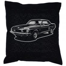 Shelby Mustang EXP 500 1968 Car-Art-Kissen / Car-Art-Pillow