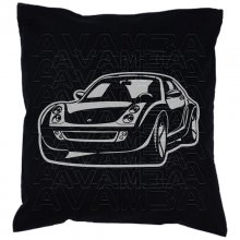 Smart Roadster (2003-2005) Car-Art-Kissen / Car-Art-Pillow