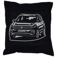 T-CROSS  (2019 - ) Car-Art-Kissen / Car-Art-Pillow