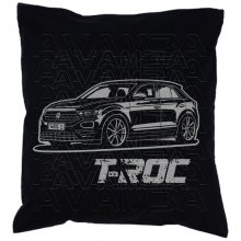 T-Roc Version 2 (ab 2017)  Car-Art-Kissen / Car-Art-Pillow