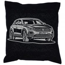 T-Roc (ab 2017)  Car-Art-Kissen / Car-Art-Pillow