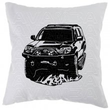 Toyota 4 Runner Car-Art-Kissen / Car-Art-Pillow