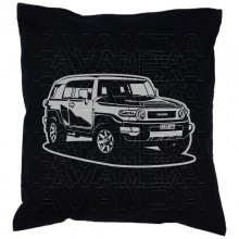 Toyota FJ Cruiser (2006 -) Car-Art-Kissen / Car-Art-Pillow