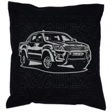 Toyota Hilux Double Cab  Car-Art-Kissen / Car-Art-Pillow