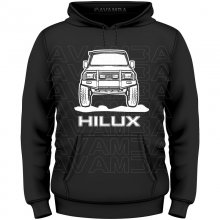 Toyota Hilux YN 80 Front T-Shirt/Kapuzenpullover (Hoodie)