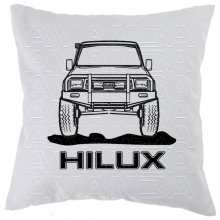 Toyota Hilux YN 80 Front Car-Art-Kissen / Car-Art-Pillow